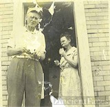 Great Grandpa and Grandma Bagshaw