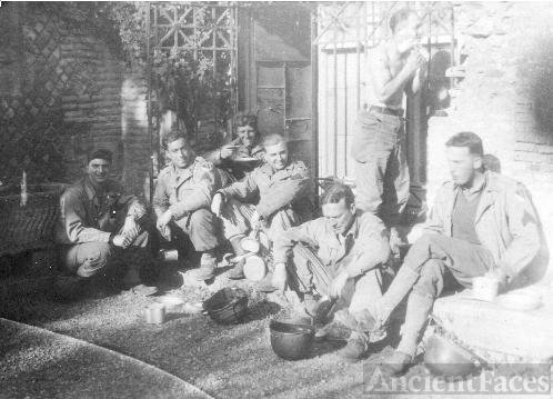 36TH COMBAT ENGINEER REGIMENT TAKING A BREAK