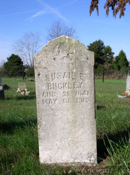 Buckley, Susan F.-Tombstone