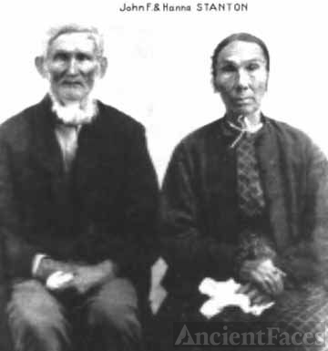 Great Great Grandparents John and Hanna Stanton