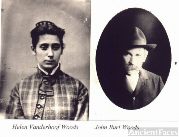 John Burl Woods & wife Helen Vanderhoof Woods