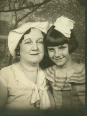 Aunt Eulah and Bettye Jean McCoy
