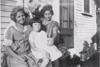 george wickenberg and daughters, CA