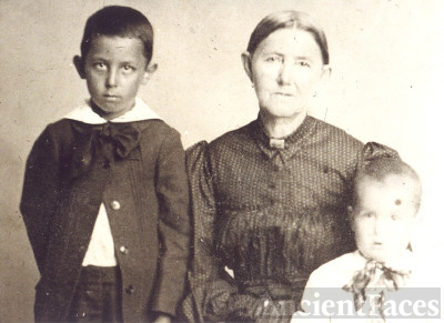 SARAH FRANCES MARSHALL DOLLINS  AND HER SONS