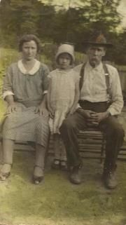 Hazel, Bessie, & Edward Seals, Kentucky