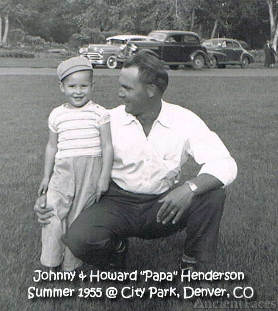 Johnny & Howard L. Henderson, 1955
