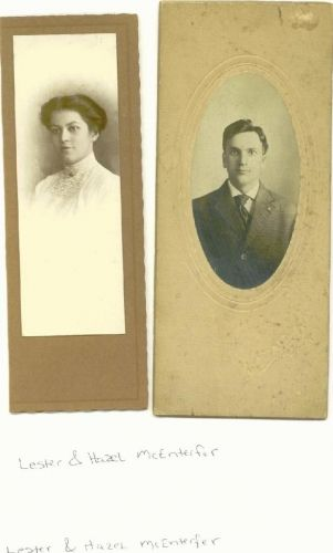 Lester and Hazel McEnterfer