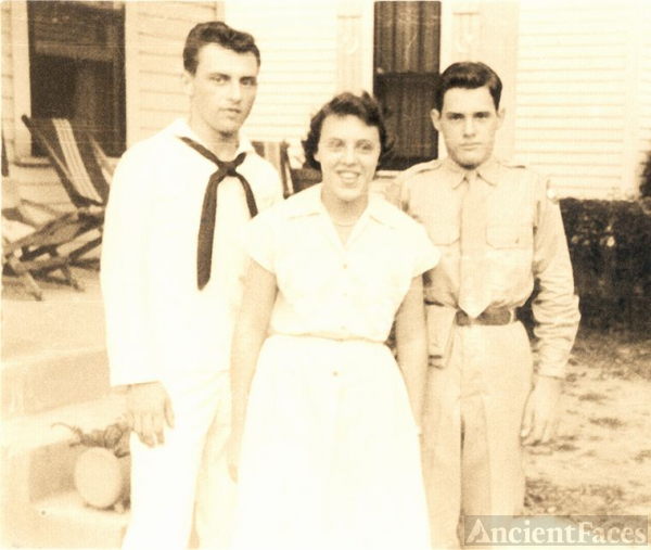 Gene, Betty, and Charles Edwards