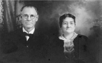 Silas Hylton and Wife