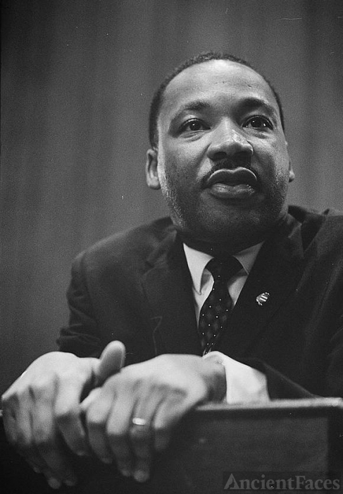 Civil Rights Leader Martin Luther King Jr