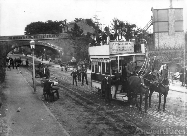 Oxford Road, Reading 1893