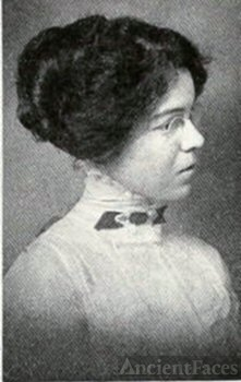 Cecile Woodward White, IN, 1913