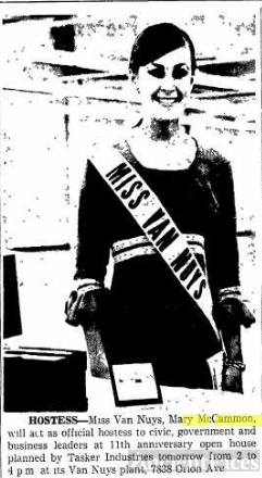 Mary Maccammon, Miss Van Nuys