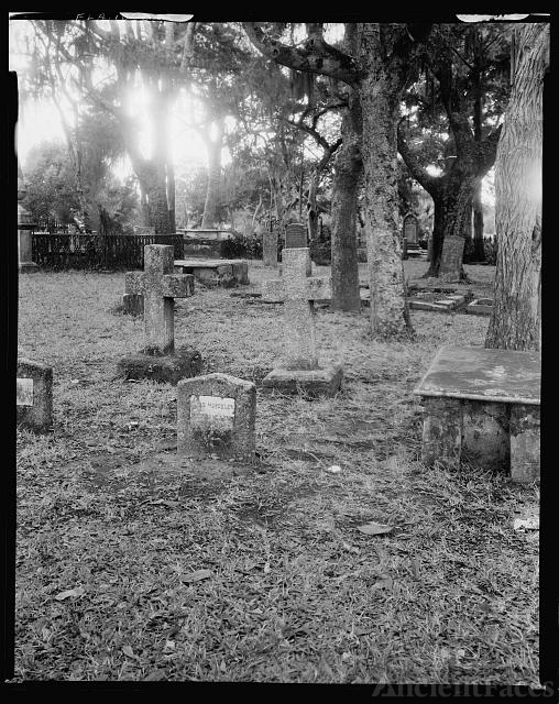 Huguenot Cemetery, St. Marco Avenue, St. Augustine, St....