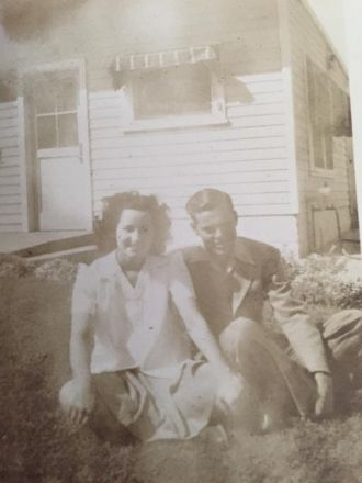 Jo Ella Quishenberry and Elmer Lee Moore