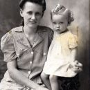 Lillian Mae Allbright  and Linda Allbright