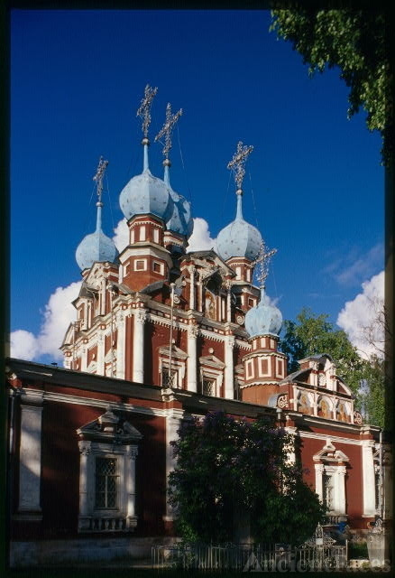 Church of the Kazan Icon of the Virgin (1694), south...
