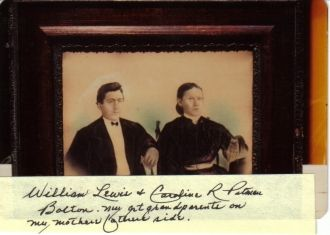William L. & Caroline R. Pitman Bolton