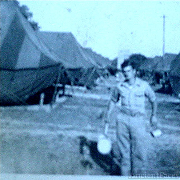 WW11 , Lester at camp