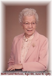 LUND: Ruth Lund Nelson, 86th Birthday, Fremont, NE