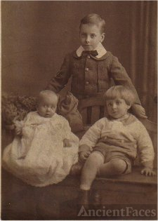 Charles, Ernest and Doris