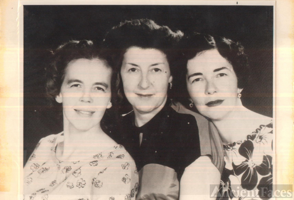 Mildred, Lila, and Helen Lee