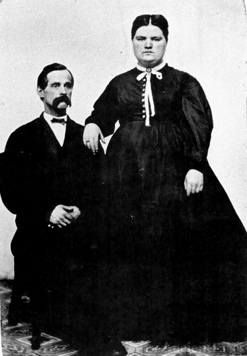 Nelson and Hannah Moore
