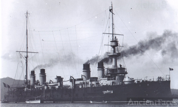 Dupetit-Thouars - French Cruiser