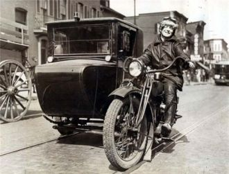 Baltimore MD Moto-Taxi 1926