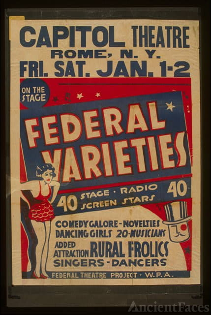 Federal Varieties 40 stage, radio, screen stars : Comedy...