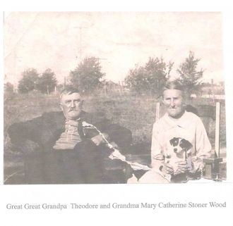 Theodore Wood & Mary Cathrine Stoner, OH