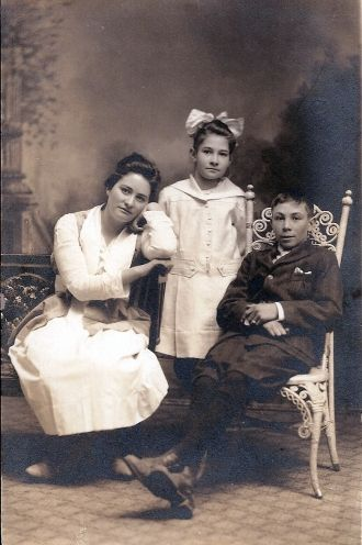 The Tisserand Children
