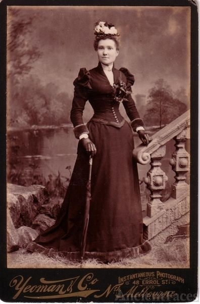 Unknown photo of a woman