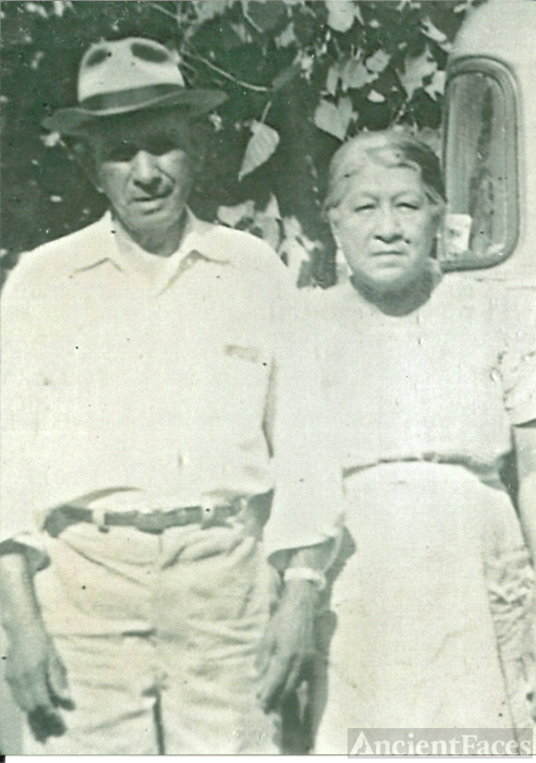 Marcos and Antonia (De La Cruz) Perez, Texas