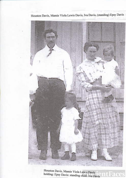 Grandfather and grandmother Davis