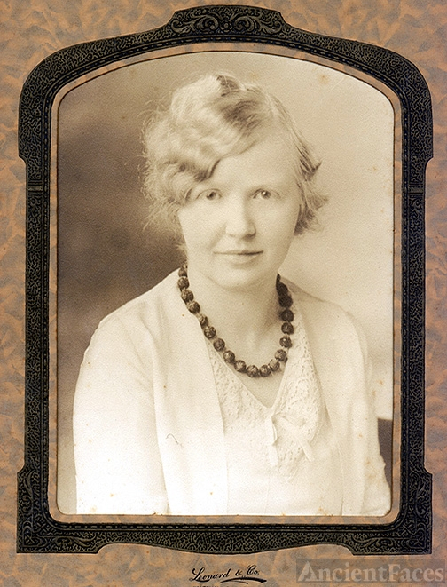 Louise Wise (Wiese) Hornsby c1930 GA