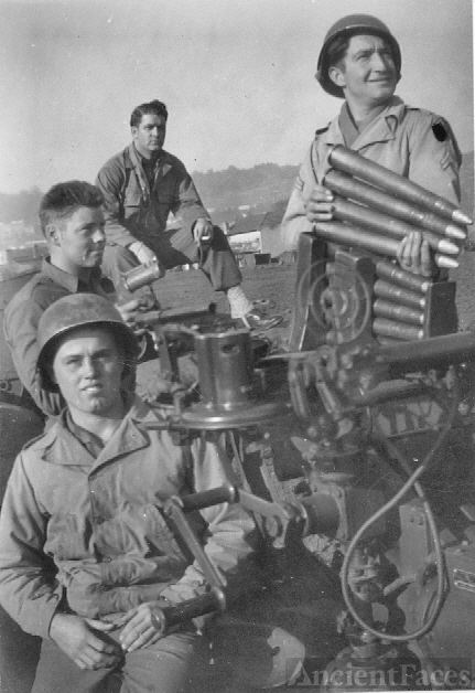 Army Buddies WWII 546th AAA