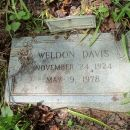 Weldon Davis Grave, West Virginia