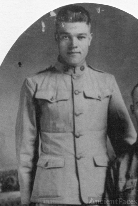 Pvt. James Ralph Tando, WWI