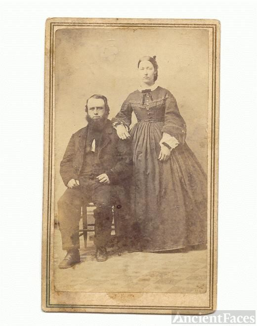 Amos and Eleanor Mott Billings