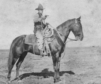 Frank Felts, Texas 1890