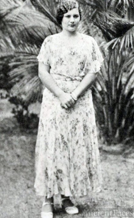 Winifred Tumblin, Florida, 1932