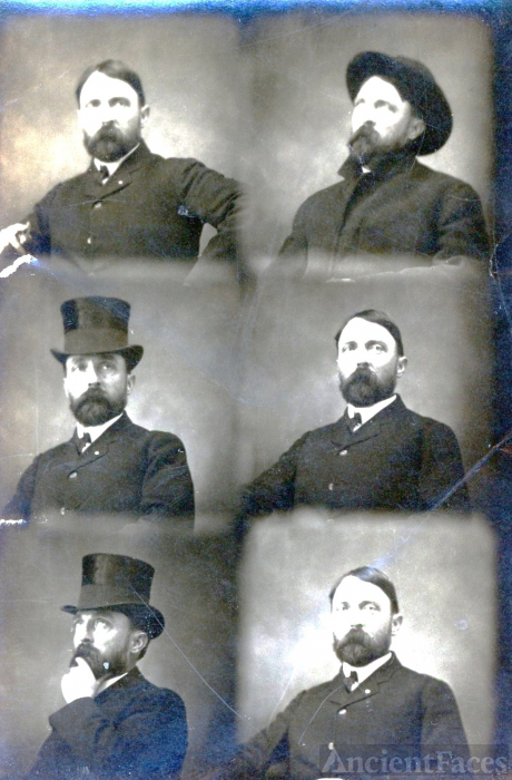 Frank G. Ellis, Photo strip