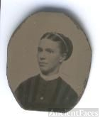 Unknown Lady (Tin Type) - Stone family