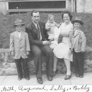 William Theodore Mort and family
