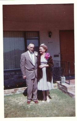 Milton and Mildred Cazneau, California