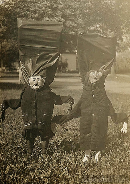 Crazy old costumes!
