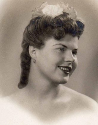 A photo of Frances Charline Allen