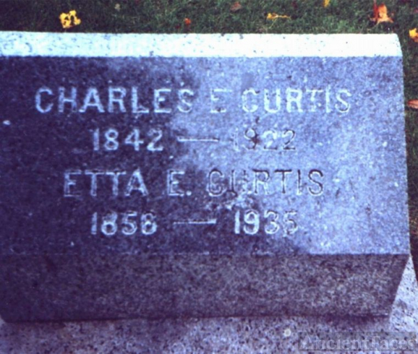 Gravestone Curtis and Brown