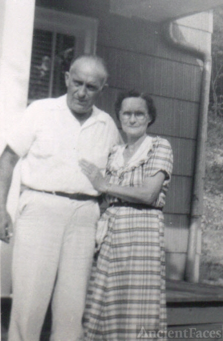 Frank  Webster & Mae Beatrice McClurg
